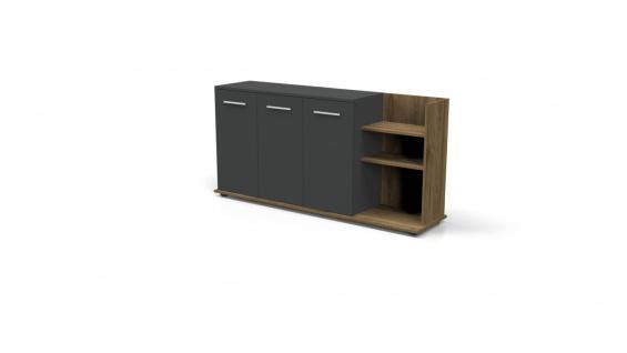 Büroeinrichtung Set Buton 3-teilig 180x80 - Vorschau 3