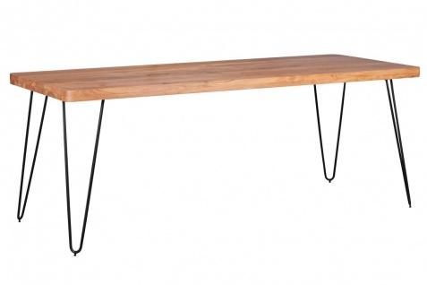 Massivholz Akazie Esstisch 200x 80x76 Küchentisch