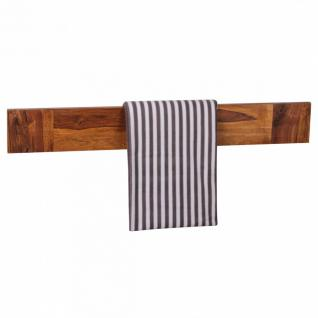Massivholz Wand Handtuchhalter 110 cm Sheesham