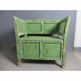 Sitzbank 04 mit 2 Schubladen verschiedene Farben 80 x 80 x 44 cm - Vorschau 1