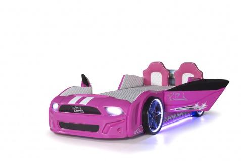 Autobett Must Rider 500 mit Türen in Pink