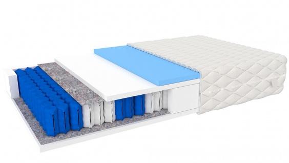 Taschenfederkernmatratze mit 7 Zonen Amero 120x200