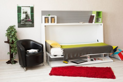 Multimo Wandklappbett Table Bed 90x190 Komplettset