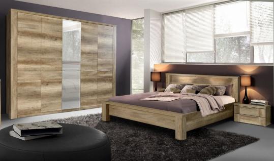 Schlafzimmer komplett in Eiche Antik Edoardo 4-teilig