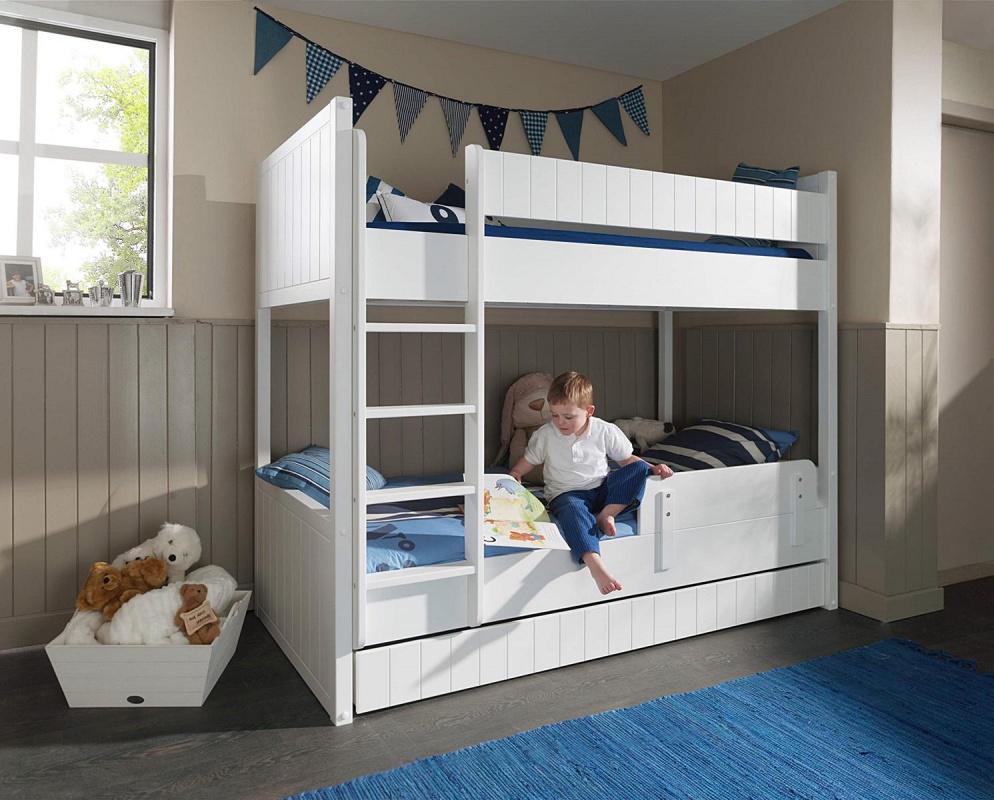 Etagenbett Schutzgitter : Kinderbabybett etagenbett für drei personen