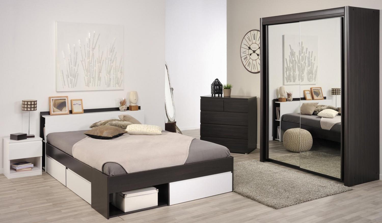 Parisot Most Schlafzimmer 4-teilig 181x217x61 und 140x200 - yatego.com