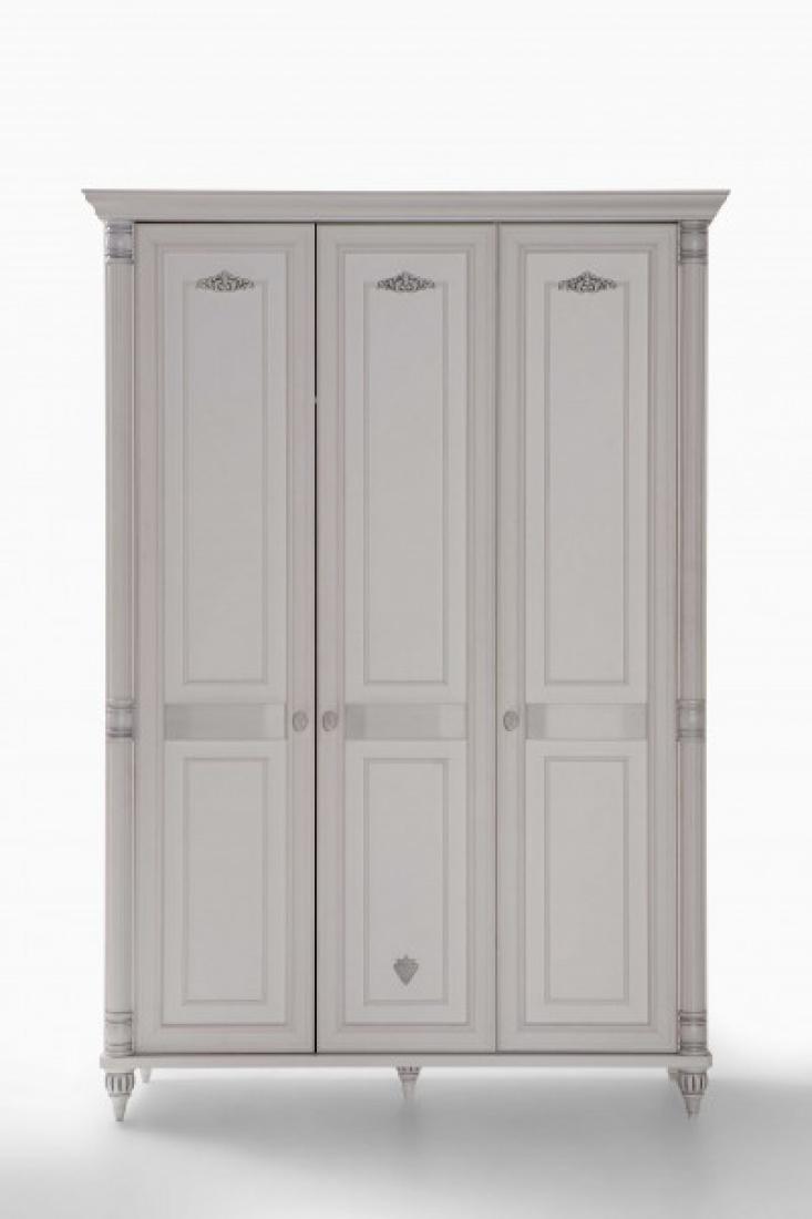 cilek romantic kleiderschrank 3 t rig m kaufen bei m bel lux. Black Bedroom Furniture Sets. Home Design Ideas