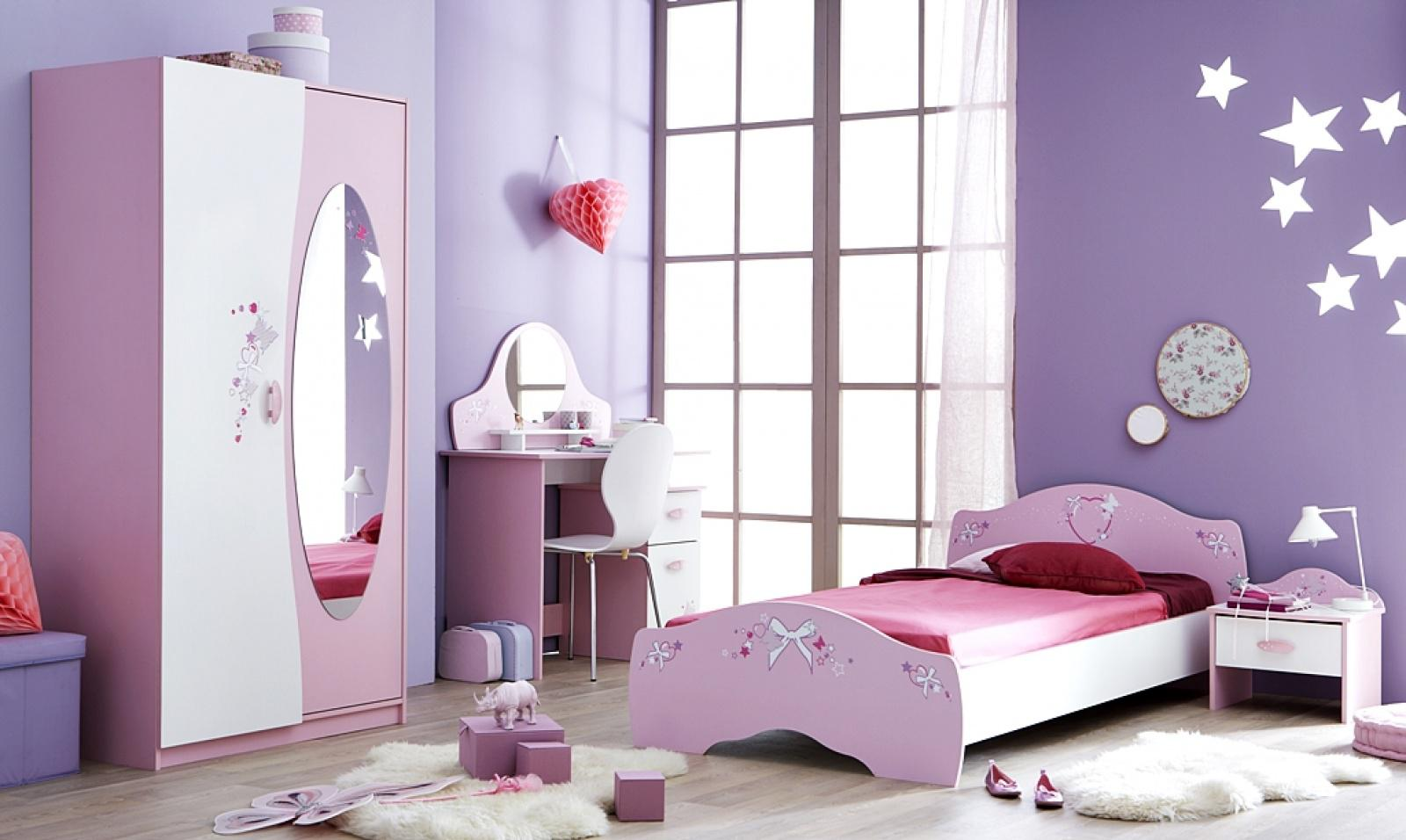 kinderzimmer magic 4 teilig in flieder wei kaufen bei m bel lux. Black Bedroom Furniture Sets. Home Design Ideas