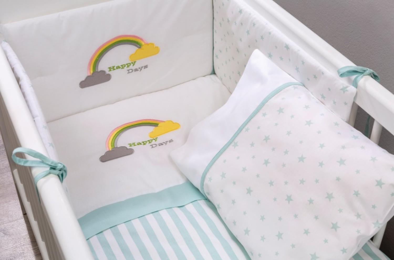 Cilek Baby Bettwäsche Set Happy Days 50x100 Kaufen Bei Möbel Lux