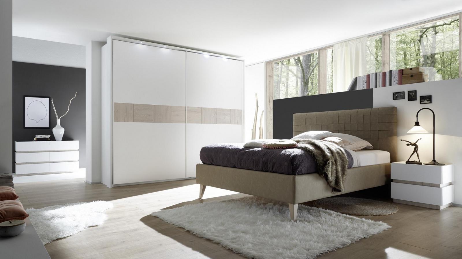 Mace Schlafzimmerset 4 Teilig Hellbraun Mit Eiche Beige Nb Kaufen