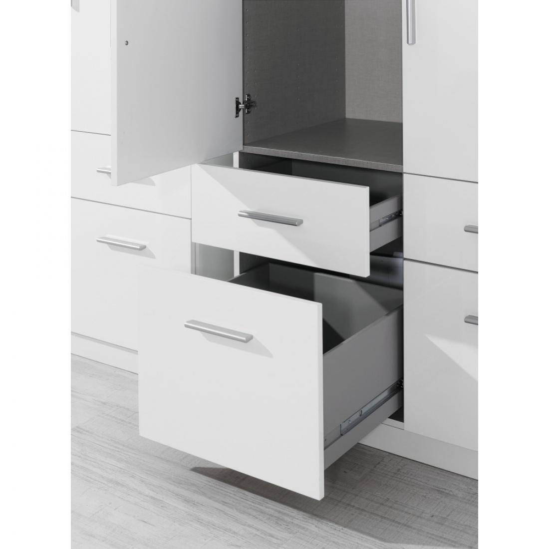 drehtür-kombischrank celle weiß / alpinweiß 181 x 197 x 54