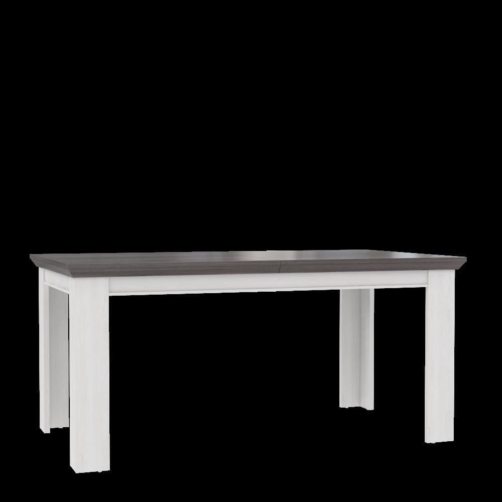 Liebenswert Esstisch Eiche Grau Galerie Von In Weiß Landy Ausziehbar