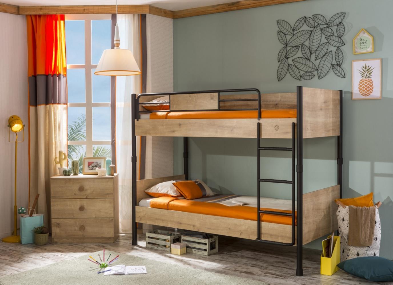 Etagenbett Leiter : Cilek mocha etagenbett mit leiter kaufen bei möbel lux