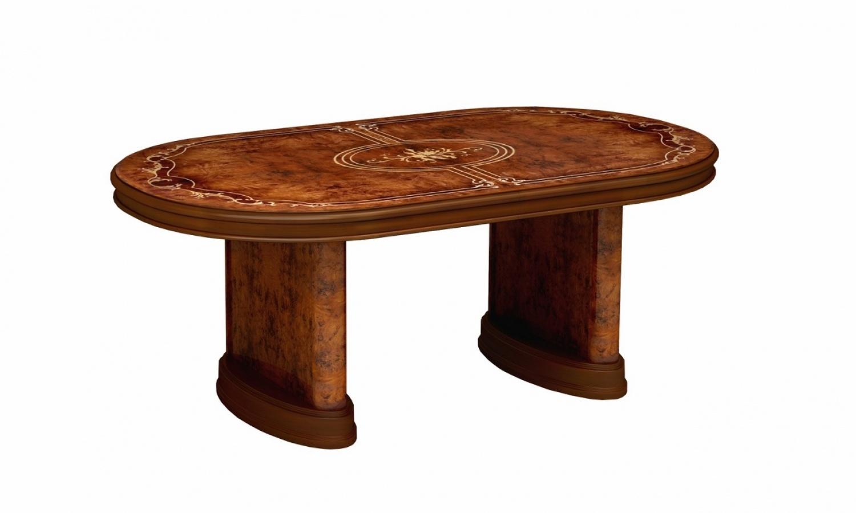 Barock Esstisch Oval Royal Julianna Ausziehbar Walnuss Kaufen Bei Mobel Lux