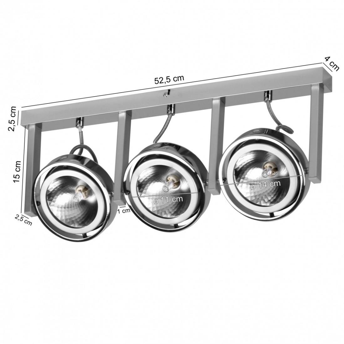 Verschiedene Lampe 3 Flammig Foto Von Spot-lampe 3-flammig Deckenleuchte Strahler Spotsystem G9 52w