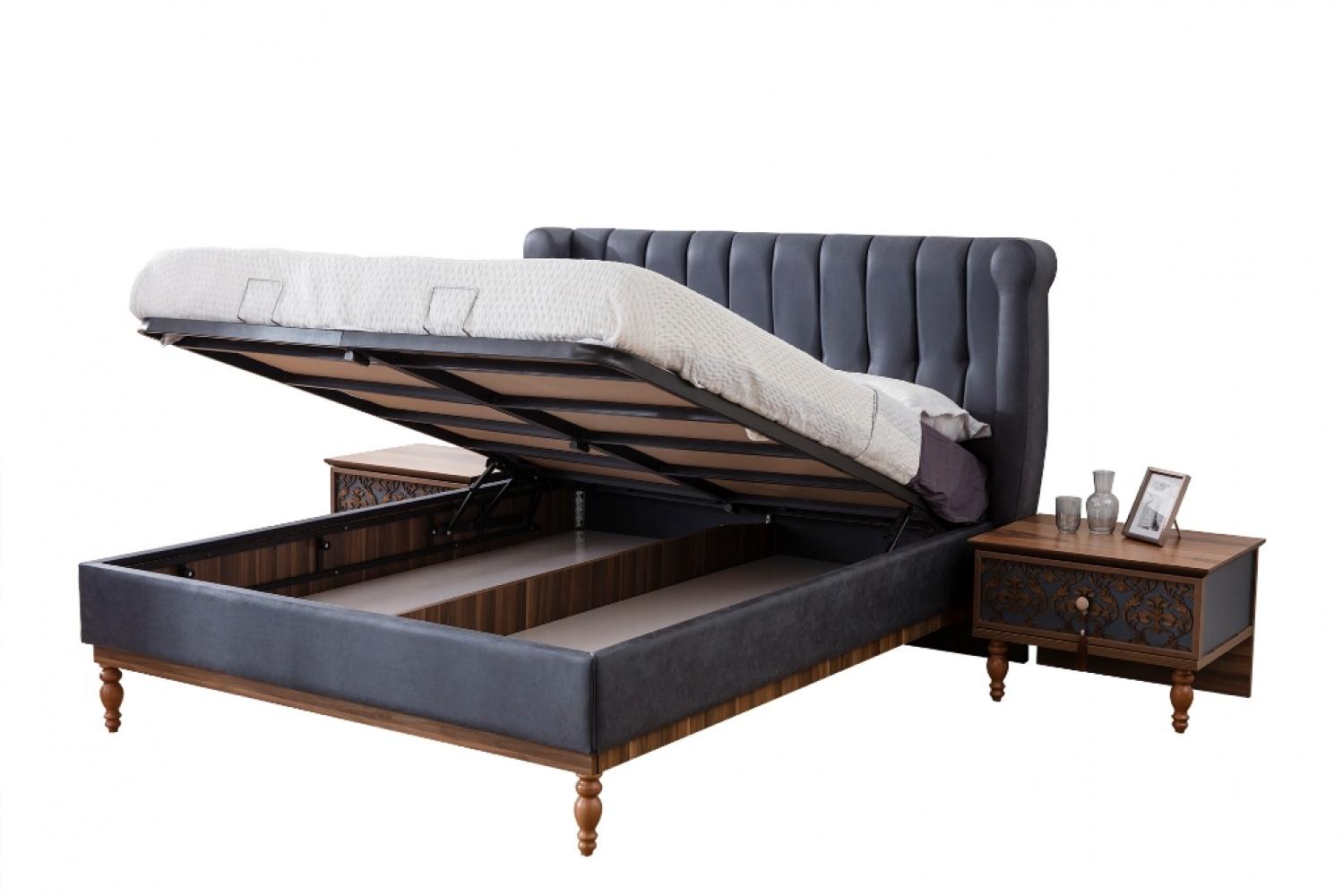 Schlafzimmer komplett Varun 4-teilig 160x200 - Kaufen bei Möbel-Lux