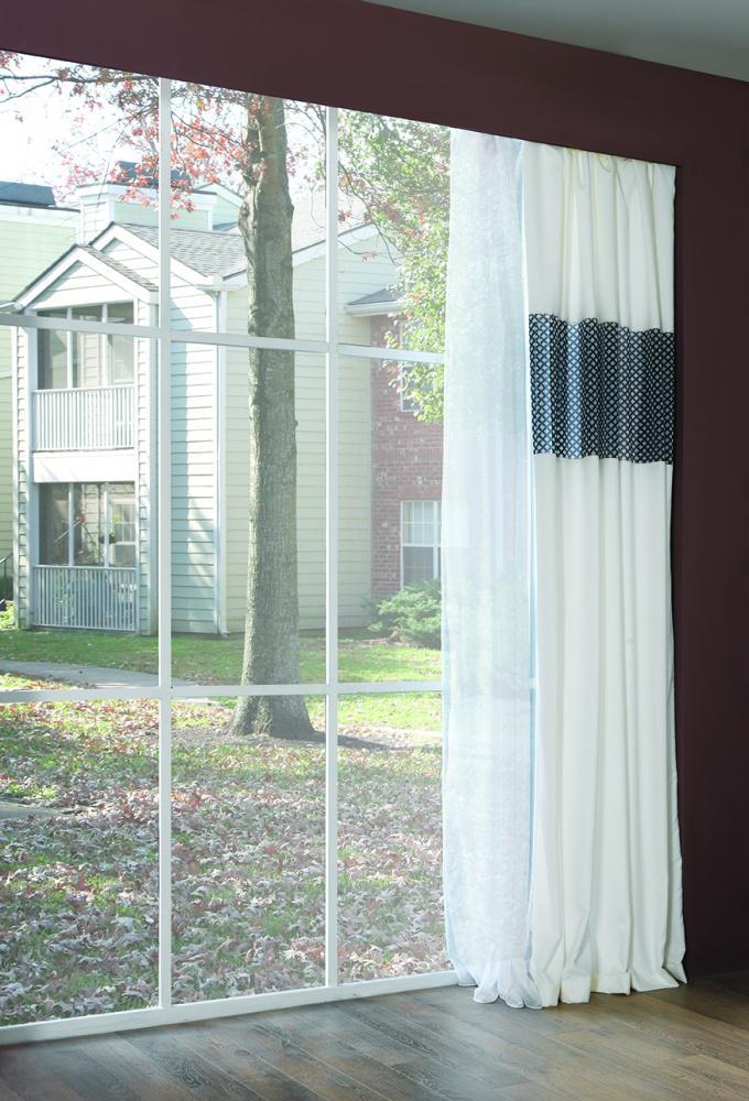 Gardine für Kinderzimmer Victory mit Muster - Kaufen bei Möbel-Lux