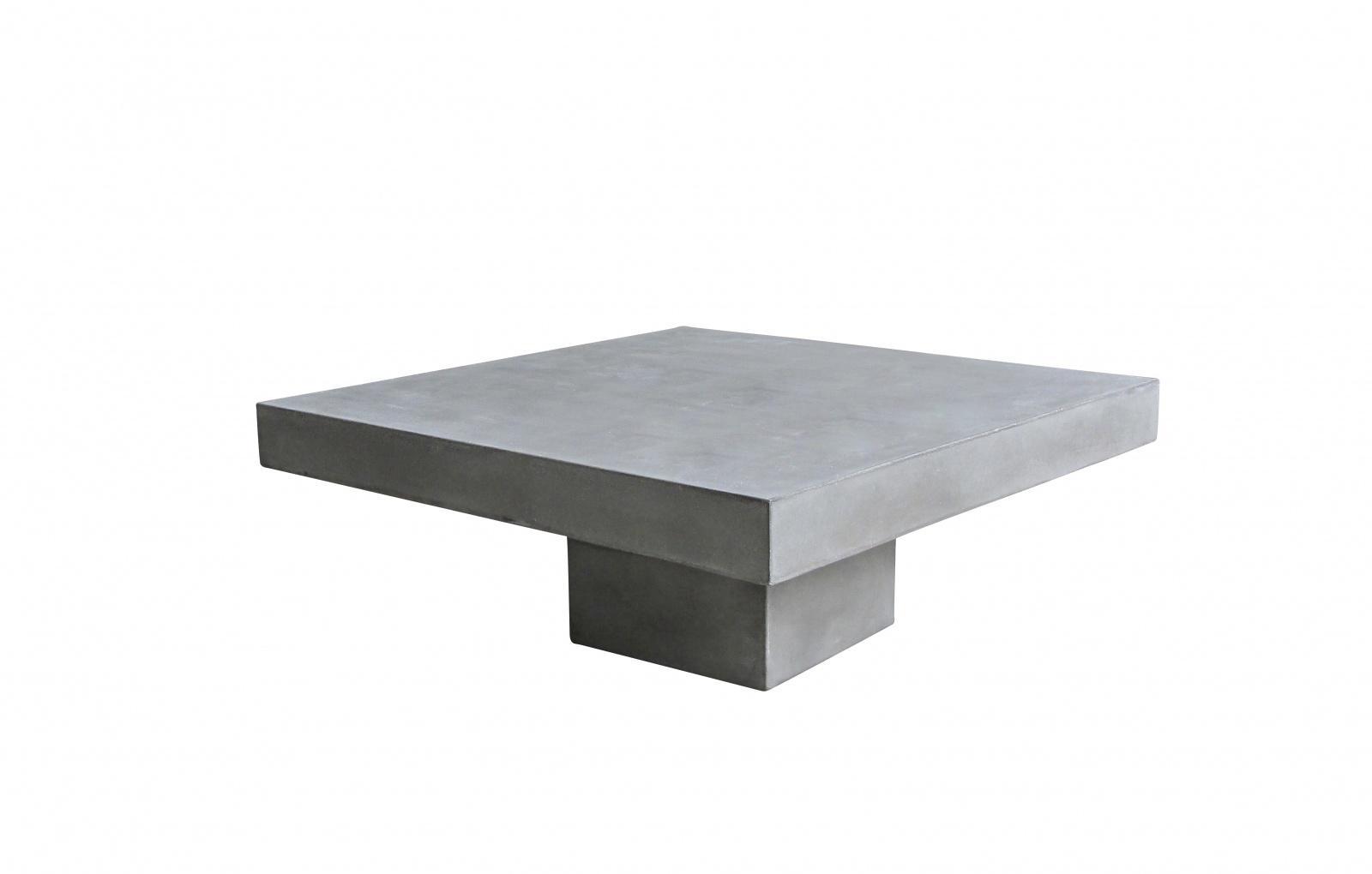 Couchtisch Camant 80x80 aus Beton - Kaufen bei Möbel-Lux