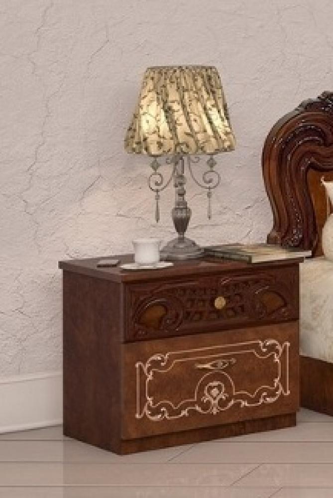Barock Schlafzimmer-Set Julianna 4-teilig in Walnuss - Kaufen bei ...