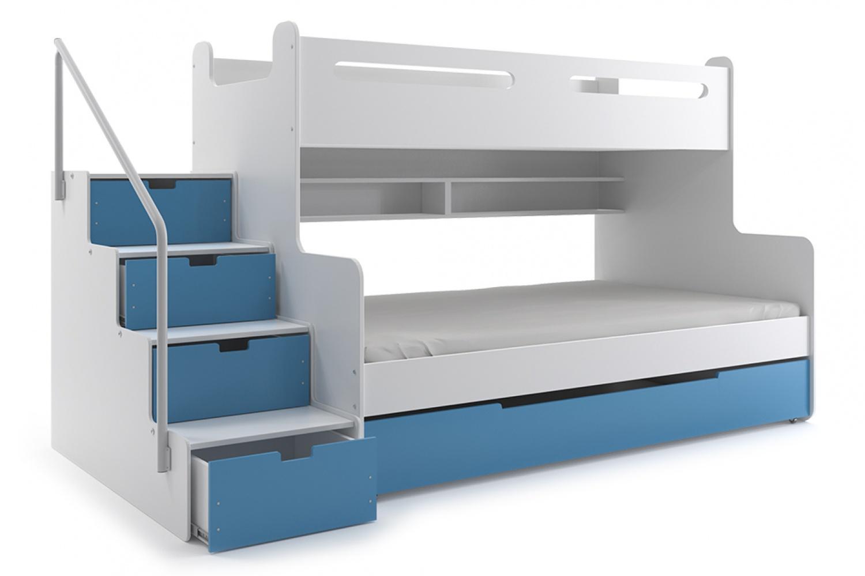 Etagenbett Clay : Etagenbett mit stufen. treppe hochbett stauraum