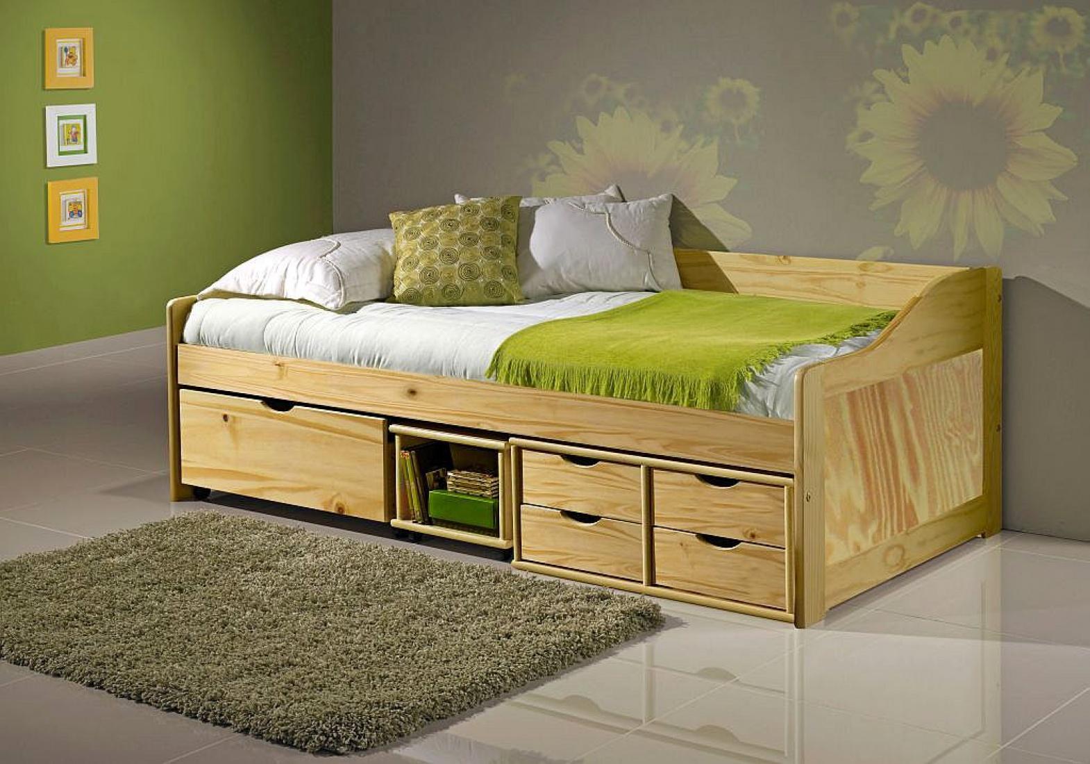 doli sofabett 90x200 mit schubladen und lattenrost kaufen bei m bel lux. Black Bedroom Furniture Sets. Home Design Ideas