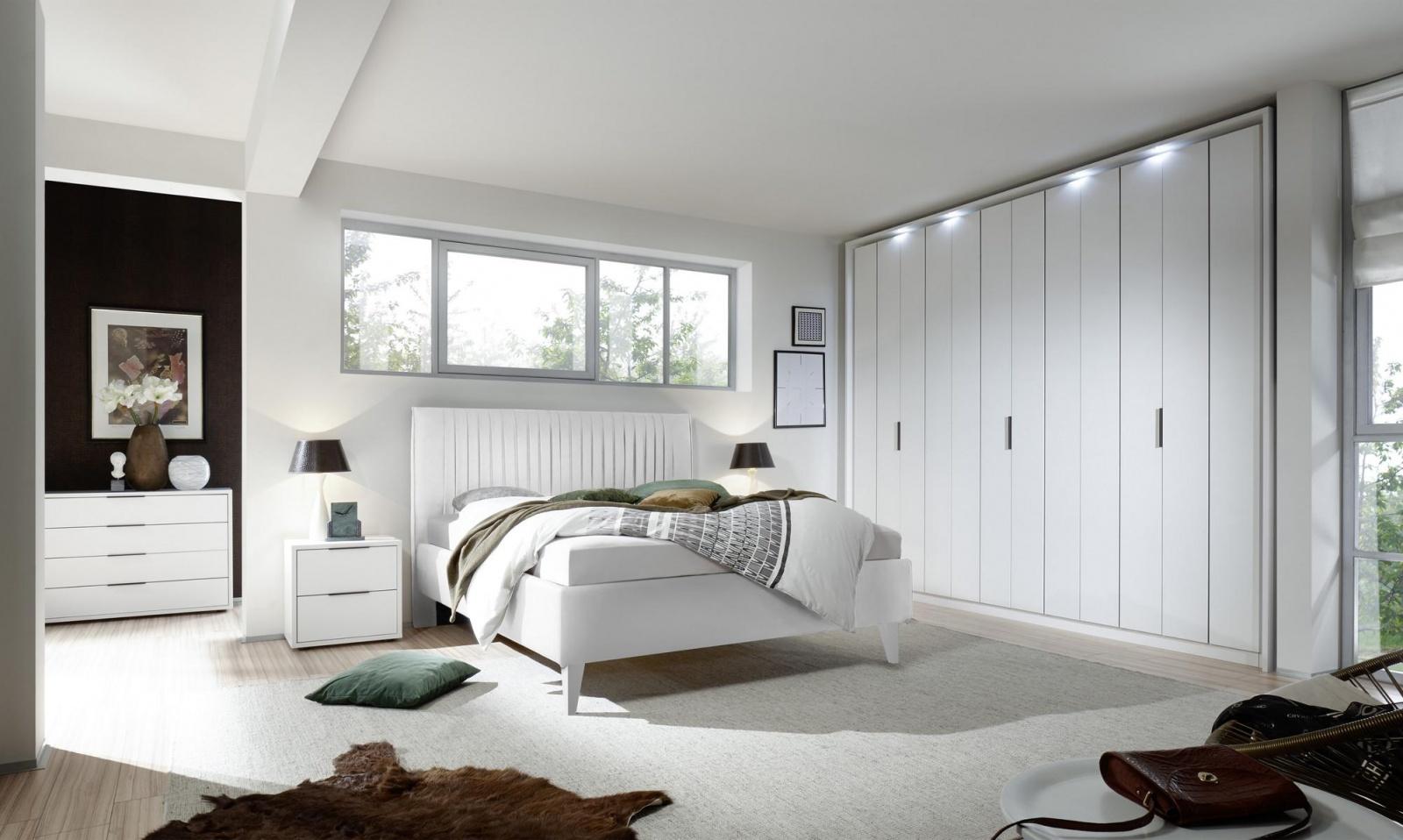 Venus Schlafzimmerset 4-teilig mit verschiedenen Bettfarben - Kaufen ...