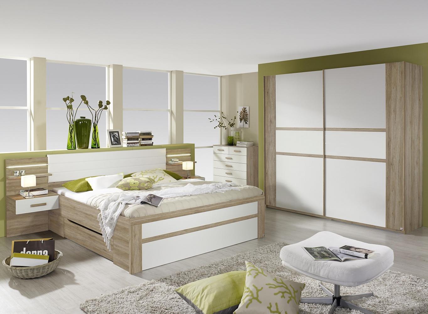 Schlafzimmer Set Bernau Mit Schwebeturenschrank Kaufen Bei Mobel Lux
