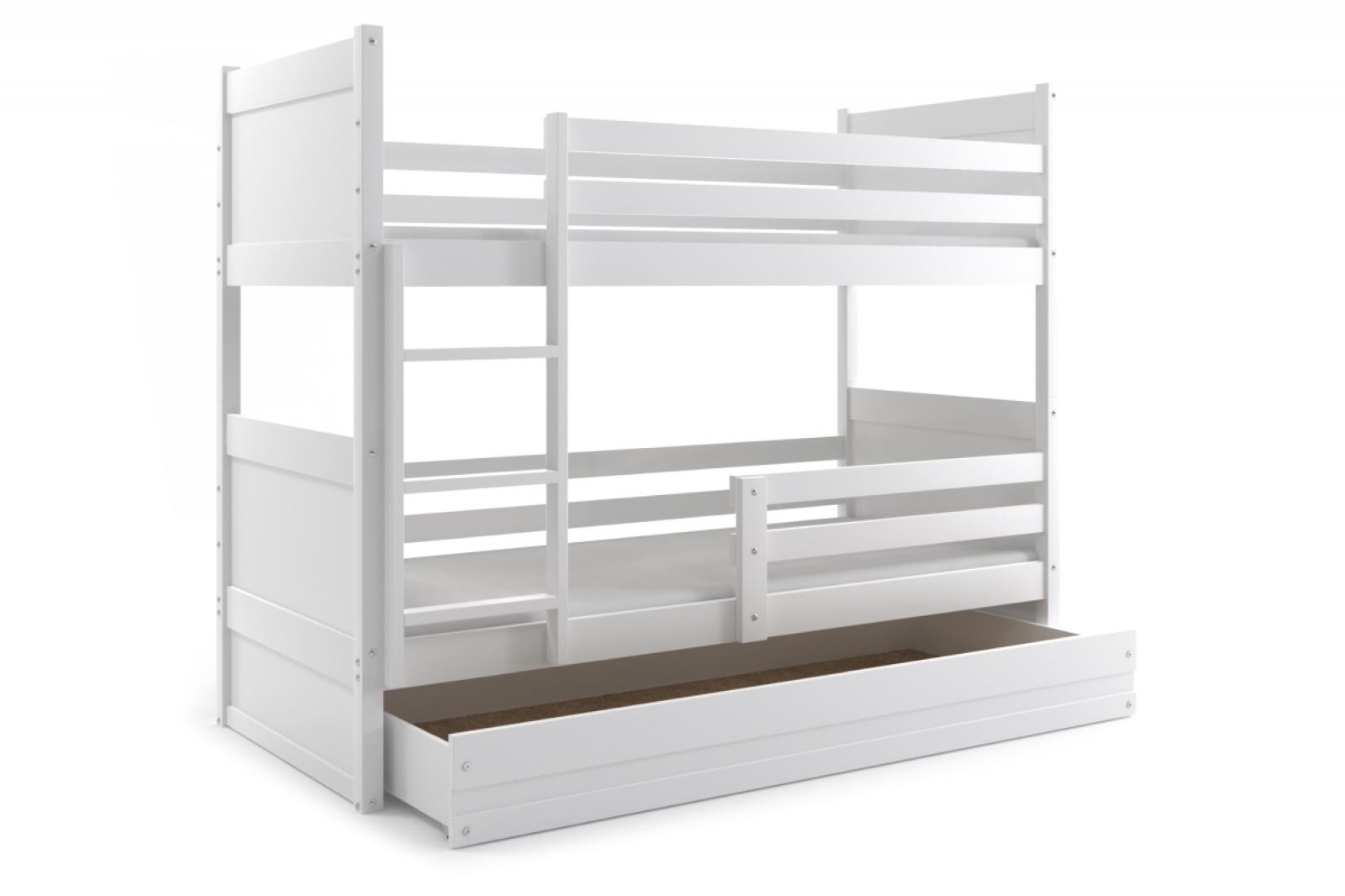 Etagenbett : Etagenbett joko in weiß mit bettkasten verschiedenen farben