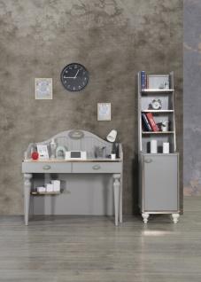 Kleines Set Gloria mit Schreibtisch und Bücherregal
