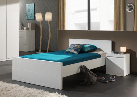 Kinderbett Saana 120x200cm in Weiß