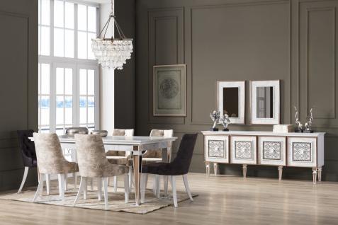 Esszimmer Kombination Ciara in Weiß