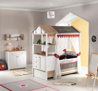 Almila Babyzimmer Set Loft Baby vergrößerbares Bett