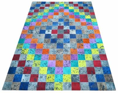 Teppich Bunt Minor aus gefärbtem Kuhfell 200x300