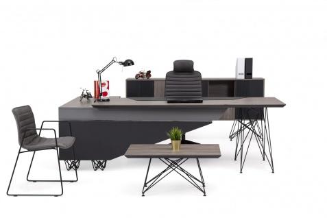 Ovali Büromöbel Set komplett 4-teilig Magnum Rechts