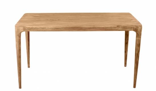 Massivholz Esstisch Mid Century 140x70