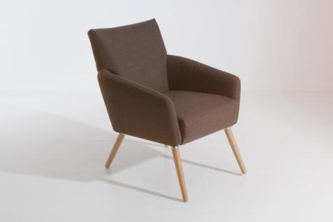 Sessel Jörn Flachgewebe mit Teflon ausgerüstet, stein