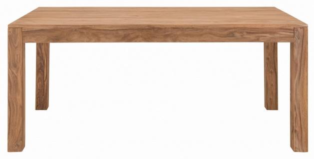 Esstisch Massivholz Natur Sanam 178x90