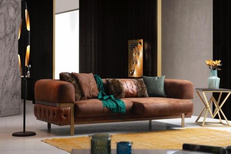 Sofa Wales mit verstellbarer Sitzfläche