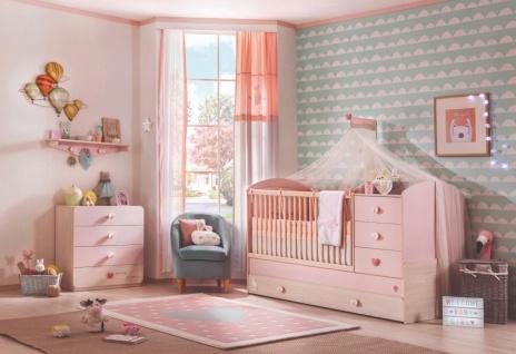 Cilek Baby Girl Babyzimmer Set in Rosa 3-teilig