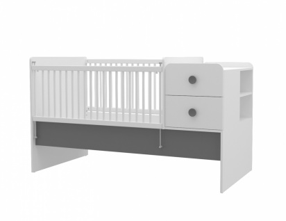 Almila Babybett Baby Cute vergrößerbar 80x130-180 cm