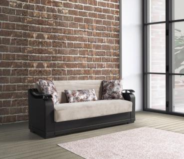 Couch mit Schlaffunktion 3-Sitzer Yildiz