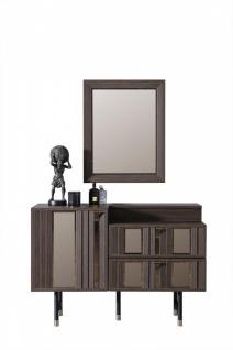 Design Kommode mit Spiegel Aral 2-teilig
