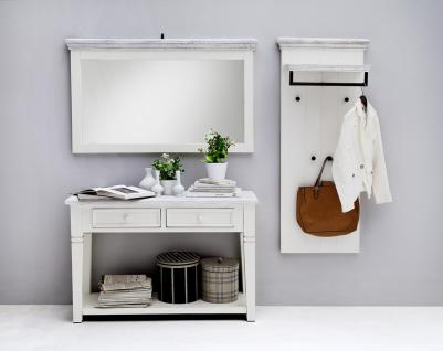 Olio Garderobenserie 3-teilig in Kiefer Weiß massiv
