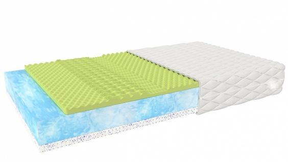 Matratze Justo mit klimaregulierenden Schichten 140x200