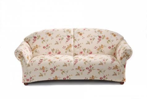 Sofa 2, 5-Sitzer Corona Baumwollgewebe, verschiedene Farben