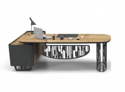 Büro Schreibtisch Balon mit Kommode