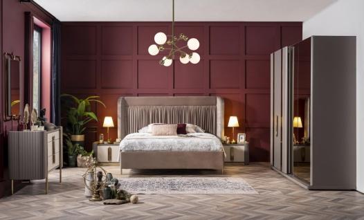 Weltew Schlafzimmer Set Florya 6-teilig 180x200 cm