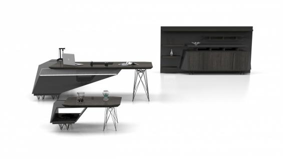 Büro Schreibtisch Xenon in modernem Design - Vorschau 2