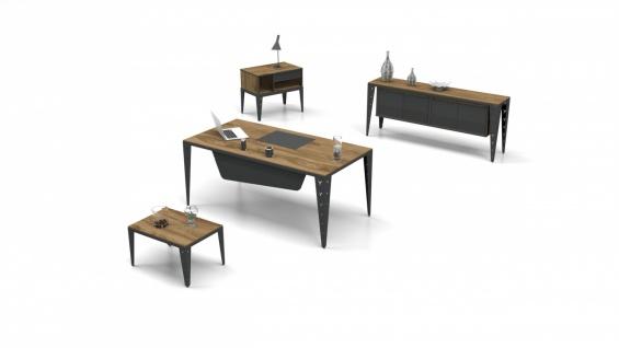 Design Büromöbel Set Mustang 3-teilig 200x90