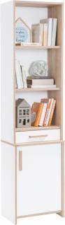Cilek Dynamic Bücherregal mit 1 Türe in Weiß